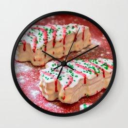 Christmas Baking 2 Wall Clock