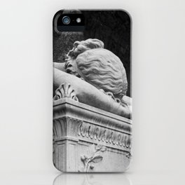 Mourning Angel iPhone Case