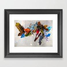 Bits of Mother Earth Framed Art Print