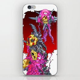 METAL MUTANT 1 iPhone Skin