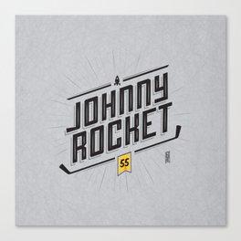 Johnny Rocket Canvas Print