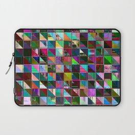 glitch color pattern Laptop Sleeve