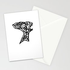 Alien B&W Stationery Cards