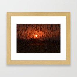 Shining through Framed Art Print