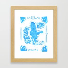Joy Rider Framed Art Print