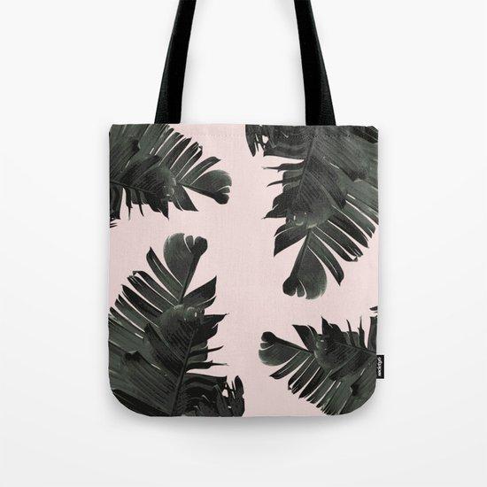 Tropical palm spring Tote Bag
