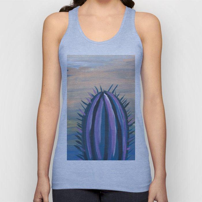 purple palm euphoric sky Unisex Tank Top