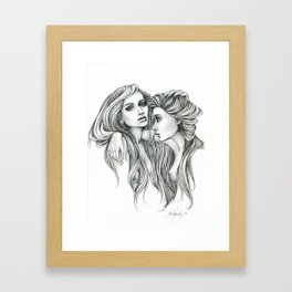 Gemini Mind Framed Art Print
