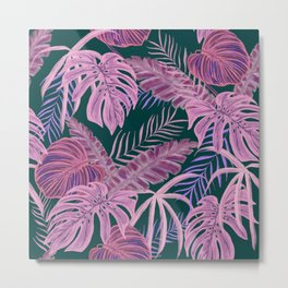 Pink Psychedelic Paradise Metal Print