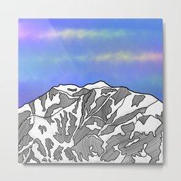 Mount Logan Metal Print