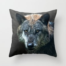 wolfman Throw Pillow