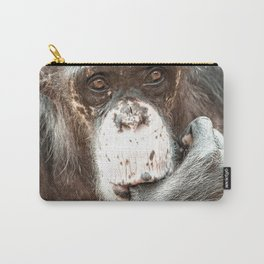 Thumb Sucking Chimpanzee Carry-All Pouch