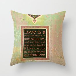 Love is a Bond... Throw Pillow