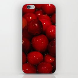 Cranberries Photography Print iPhone Skin