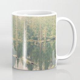 Mystical Pond Forest Redmond Washington, Original Fine Art Photography Architecture Home Decor Gift Coffee Mug