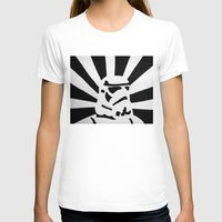 stormtrooper T-shirts featuring StormTrooper by Shelly Lukas Art