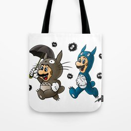 Super Totoro Bros. Alternative Tote Bag