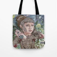 Dragon Warrior Tote Bag