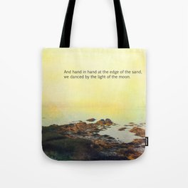 At the Edge of the Sea Tote Bag