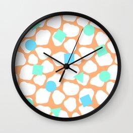 Memphis Pattern Wall Clock