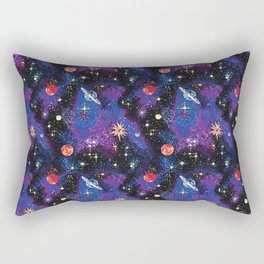 Out of This World Carpet Pattern Rectangular Pillow