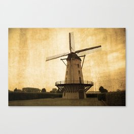 Le Moulin Jaune  Canvas Print