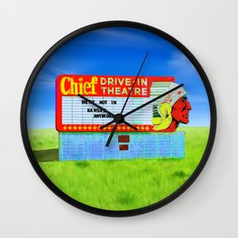 We're Not In Kansas Anymore... Wall Clock