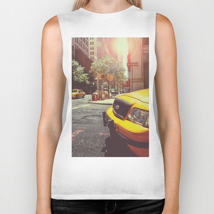 NYC Taxi Cab Biker Tank