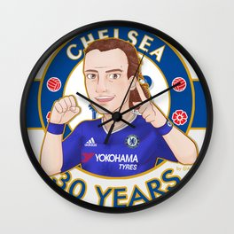 Luiz 30 years old Wall Clock