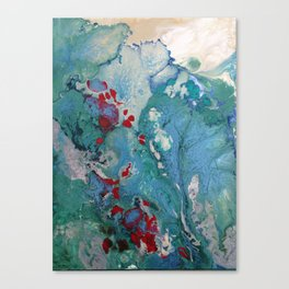 Marbled Canvas Print