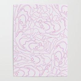 Pastel Pattern I Poster