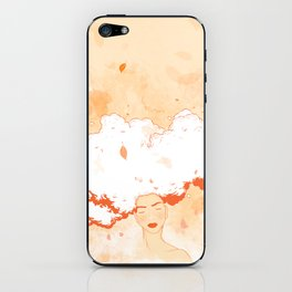 Free Thoughts iPhone Skin