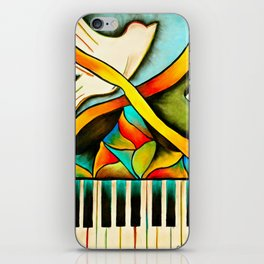 Piano- Behold iPhone Skin
