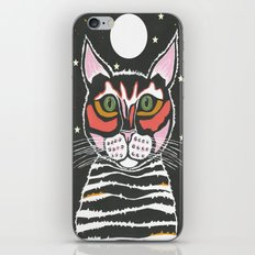 Moon Cat iPhone & iPod Skin