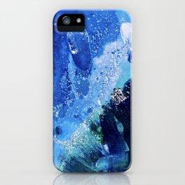 Little Polar Bear, Tiny World Environmental Collection iPhone Case