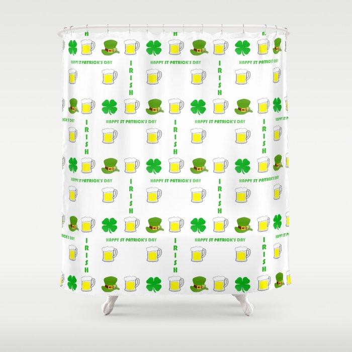 I'm Irish - St Patrick's Day Design Shower Curtain