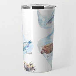 Fishes of the Great Barrier Reef Travel Mug