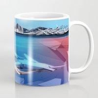 sharks Mugs featuring Sharks by Deze Dezines