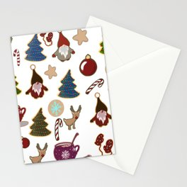 Christmas stickers Stationery Cards