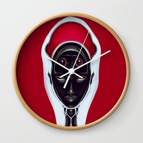 Au contraire Wall Clock