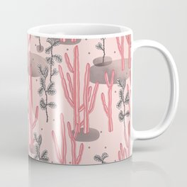 Pink tropical garden Coffee Mug