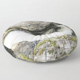 Round the Bend Floor Pillow