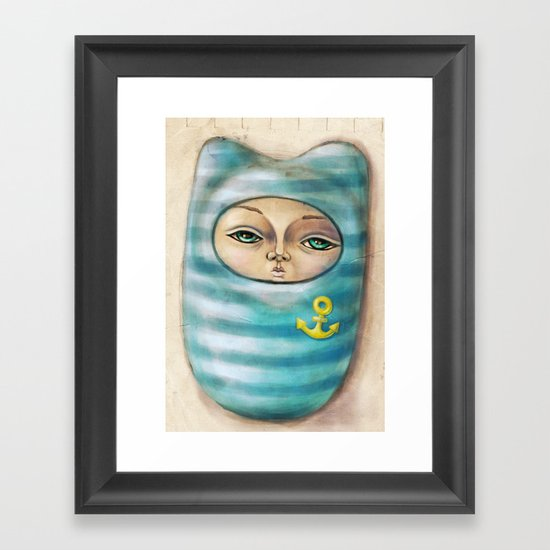 Sea Soul 2 Framed Art Print