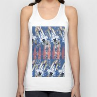 rocket Tank Tops featuring Rocket by AnnaW