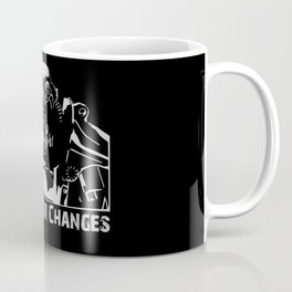 Fallout 3 War Never Changes Coffee Mug
