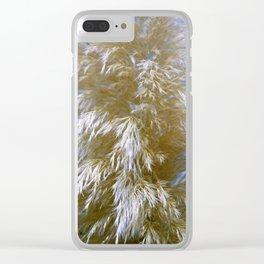 Pampas Grass - Cortaderia selloana Clear iPhone Case