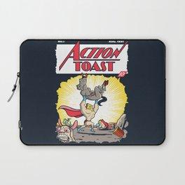 Action Toast Laptop Sleeve