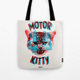 Motor Kitty Tote Bag