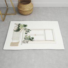 House Plants Rug