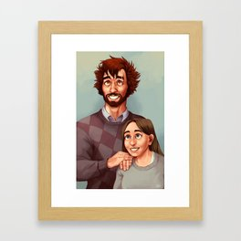 The Worst Family Photo Framed Art Print
